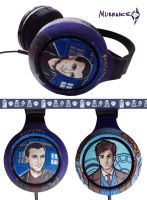 Doctor who headphones by Boorza
