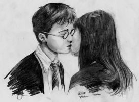 Harry Potter and Cho Chang by YanamiChan