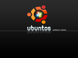 Ubuntos Wallpaper by DrCrunk