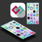 Connection-related app icon design (for sale) by MadalinVlad