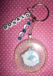 Donald Duck Resin Keychain by 13anana