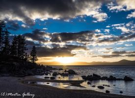 Sand Harbor Sunset150222 - Copy by MartinGollery