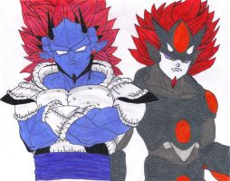 Henlong and Nightmare by DBZ2010