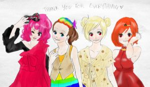 Thank you for everything by Haruyou