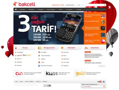 Bakcell - Mobile Operator by Naghiyev