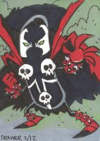 Spawn Sketch Card by thecheckeredman