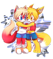 Banto and Rigel_Commission by f-sonic