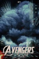 The Avengers Poster by LifeEndsNow