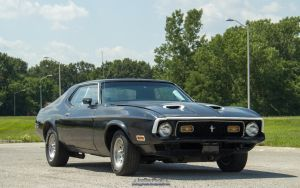 1972 Ford Mustang by joerayphoto