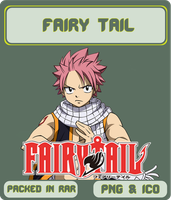 Fairy Tail - Anime Icon by Rizmannf