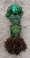 Grow - Beaded Goddess Doll by jardan