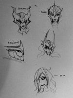 TFP Headshots and blah by Starshad0wz