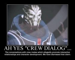 Crew dialog by A-forsteri