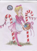 Candy Crush Saga Girl by SammySideUp00