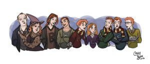 The Weasleys by Chansey123