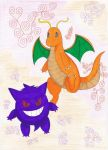 The ghost and the dragon by LunarisTigris