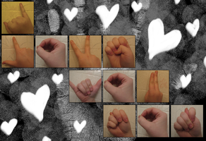 I Love You Not - Sign Language by rosesfornezumi