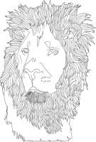 Lion by Tikwid