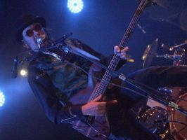 Les Claypool At Coachella by Johnny-Lively