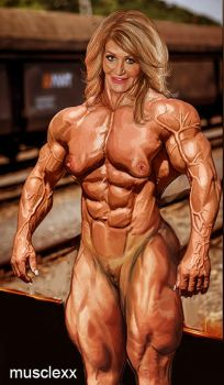 Musclexxmilf by sgcaio
