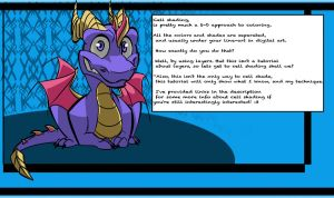 Cell Shading Tutorial Page 1 by InspiredDragons