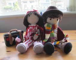 Doctor Who: The Hand of Fear Crochet (Commission) by fourthimbles