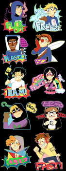 South Park Stickers by Feri-Marife
