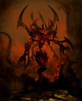 DIABLO by CRYPTID-MAN