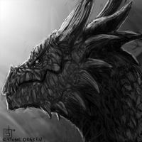 Dragon Icon - Stone Draken by stonedraken