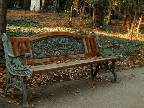 Tbilisi bench by sindarelf