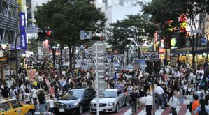 Shibuya Traffic Beehive by AndySerrano