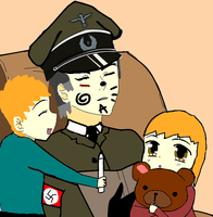 Richtofen with his and Christina's children by ILoveEdwardRichtofen