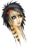 Scene Queen by Loup-Valkyrie