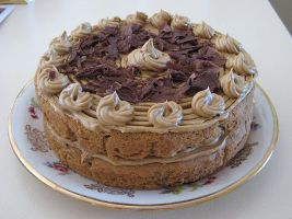 Iced Coffee Cake by Shrewdy