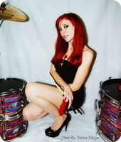 Drum Photo Shoot by laylassong