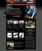 Fitness website by ruakbar