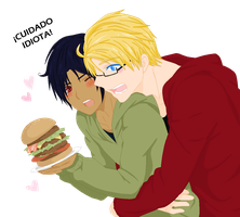 .:USAMex Hamburger:. by kiba-kun1289