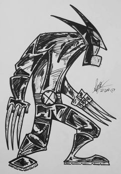 Wolverine1 by ShepherdoftheWest