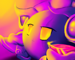 Eye rape Metaknight by TheEternalFlare