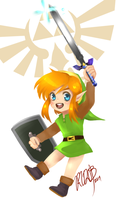 Link ! TLOZ: A Link to the past by Hoexayna