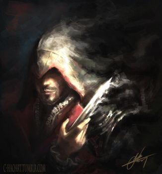 Ezio (Assassin's Creed) by C-HaoArt