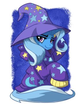 Trixie In Over-sized Sweater by LateCustomer