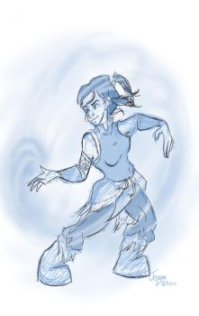 Airbending by Jarda-Potter