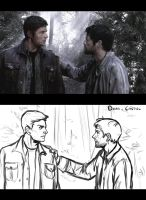 Supernatural Redrawn by msloveless