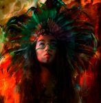 Indian Paintbrush by Phatpuppyart-Studios