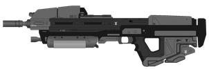 MA7 Individual Combat Weapon System by IncarnateFirefly