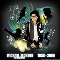 Michael Jackson tribute by ABCreatief