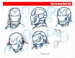 How To Draw Iron Man by GuilhermeRaffide