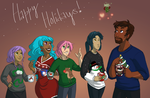Christmas Card 2k15 by akiwitch