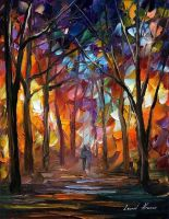 KALIEDOSCOPE OF LOVE AFREMOV by Leonidafremov